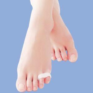 2pcs Little Toe Separator Soft Gel Bunion Spreader Corrector Pain Relief UK Corn