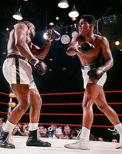 Ali vs Liston - Feb.25, 1964 8x10 Color Photo
