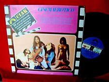CINEMA EROTICO OTS LP 1988 EX+ Sexy Cult Movies Morricone Piccioni Nude Cover