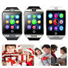 Bluetooth Smart Wrist Watch With Camera for Android Samsung Galaxy LG G6 G5 Moto