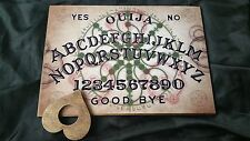 Large Wooden Ouija Board Alchemy Dawn & Planchette & Instructions halloween ESP