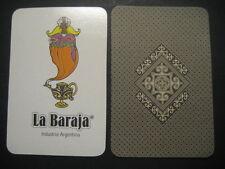 JOKER MONO CARACTÈRE GÉNÉRIQUE LETTRE DE PONT. LE JEU Argentine. Jouer carte