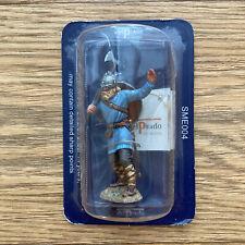 del Prado Hand Painted Lead Figure Viking Warrior Norway c.872 Sealed in Pack
