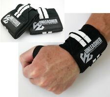Unleashed Wrist Wraps - Powerlifting Bodybuilding Gym Support Straps
