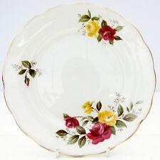 Vintage Crown Essex Richmond Rose Bone China Tea Plate Floral Roses