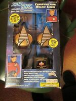 STAR TREK TNG THE NEXT GENERATION COMMUNICATOR WALKIE TALKIE 1993 SEALED EDGES