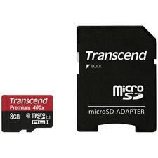 Transcend Micro SDHC Premium 400x 8GB + Adapter Class 10 UHS-I 8 GB TS8GUSDU1
