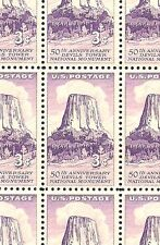 1956 DEVIL'S TOWER, WYOMING #1084 Full Mint -MNH- Sheet of 50 Postage Stamps