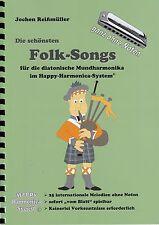 Harmonica-juego cuaderno sin notas-los más bellos folk-songs