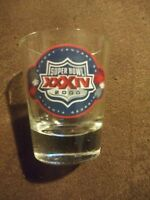 Super Bowl XXXIV Shot Glass January 30, 2000 Atlanta Georgia MINT 34
