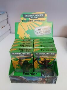 Warhammer 40,000 Coronis Campaign CCG Imperial Guard, Tyranids (Sabretooth 2002)