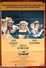 The Champ {Jon Voight} Original British Movie Poster 70s