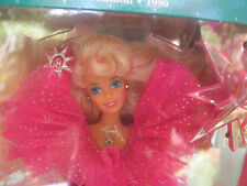 Barbie 1990 Happy Holidays. Collector Doll. Mint in Damaged Box