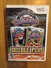 Little League World Series Baseball: Double Play Nintendo Wii  2010 Complete CIB