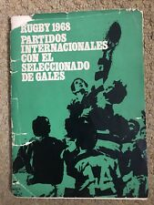 More details for argentina vs wales,  1969 tour rugby programme