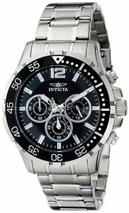 """Invicta Men's 16287SYB """"Specialty"""" Stainless Steel Chronograph Jap Quarts Watch"""