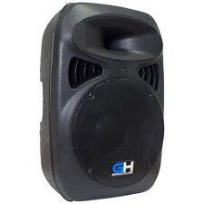 Grindhouse 1000W Active Powered DJ PA Main Loud Speaker 1/8 Aux 1/4 XLR Mic RCA