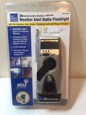 Storm tracker Vector VEC172WB Weather Alert Radio Flashlight Cell Phone Charger