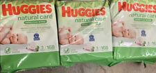 Huggies Natural Care Sensitive Baby Wipes, Unscented 9 Flip-Top Packs - 504ct