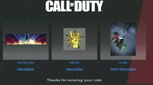 Call of Duty Black Ops Cold War ROCKSTAR UK 3 SET CODE KEYS REGION FREE