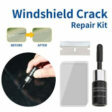 Automotive Glass Repair Fluid Car Nano Window Solution Crack Tool Kit Chip Resin