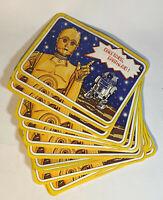 16 Vintage 1977 Star Wars Postcards: C3P0 & R2D2 Greetings Humans
