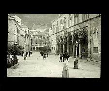 Croatie c. 1900 - RAGUSE Palais du Recteur - Verre Positif - 59