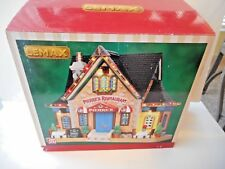 """LEMAX """"PIERRE""""S RESTAURANT"""" LIGHTED BUILDING 2015 NEW IN BOX"""