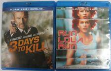 3 Days To Kill [Blu-ray, Dvd] - Run Lola Run [Blu-ray]