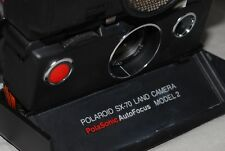 SX 70 Polaroid Polasonic AutoFocus Model 2 & camera case