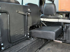 Black Individual Inward Facing Rear Seat For Land Rover Defender & Series DA4067