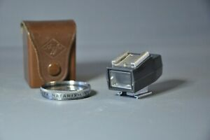 AGFA Shoe Mount Viewfinder with AGFA Natarix Filter and Case