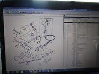 New Mercury Mercruiser Quicksilver Oem Part # 88688A27 Remote Control