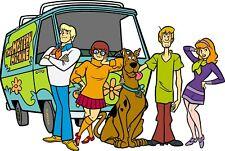 Scooby Doo Iron On Transfer Light/Dark Fabrics 5 x 7 Size