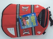 Paws Aboard Neoprene Doggy Life Jacket Small-Red