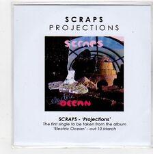 (FQ534) Scraps, Projections - 2013 DJ CD