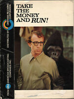 TAKE THE MONEY AND RUN WOODY ALLEN FIRST STAR ROLE RARE 1969 PROMO PROGRAM