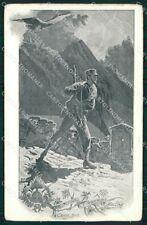 GdF Guardia di Finanza Militari Cenni 1903 cartolina KF0145
