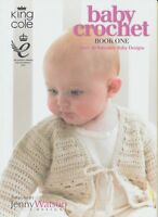 Baby Crochet Book One 20 Crochet Patterns King Cole Birth to 2 yrs