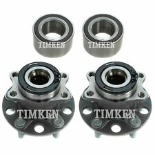 Front & Rear Wheel Bearing Hub Assembly Kit Timken For Jeep Compass Patriot 4WD