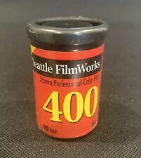 Seattle FilmWorks 35MM Professional Color Film Negative 400 24  Exposures New