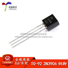50PCS X CJ TO-92 2N3906 Y (200-300) PNP transistor