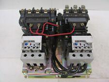 Allen Bradley Size 2 Reversing Starters 520F-C0D-A2J-A2J 3596TH