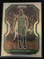 2020-21 Panini Prizm Kemba Walker Silver Holo Boston Celtics #122