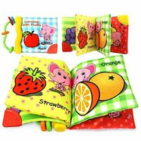 Infant Early Educational Toys Baby Fabric Activity Crinkle Soft Book Baby KIDS