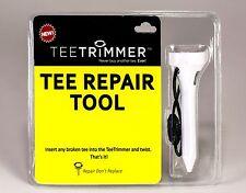 TeeTrimmer Tee Repair Tool - Sharpen Wood & Plastic Tees - New Golf Accessory
