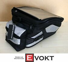 Bmw R 1200 GS Adventure Tank Bag Waterproof Black Silver Genuine NEW