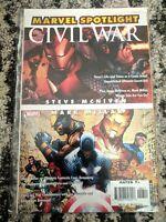 Marvel Spotlight #1 Mark Miller Steve McNiven **ULTRA RARE** (2006) Civil War