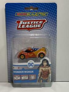 Scalextric G2168 Wonder Women Micro Car Super Resistant New Sealed