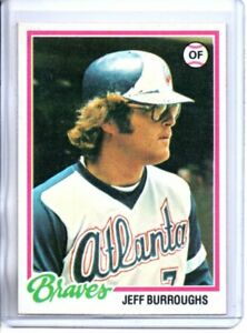 1978 TOPPS JEFF BURROUGHS (NM/MT) *